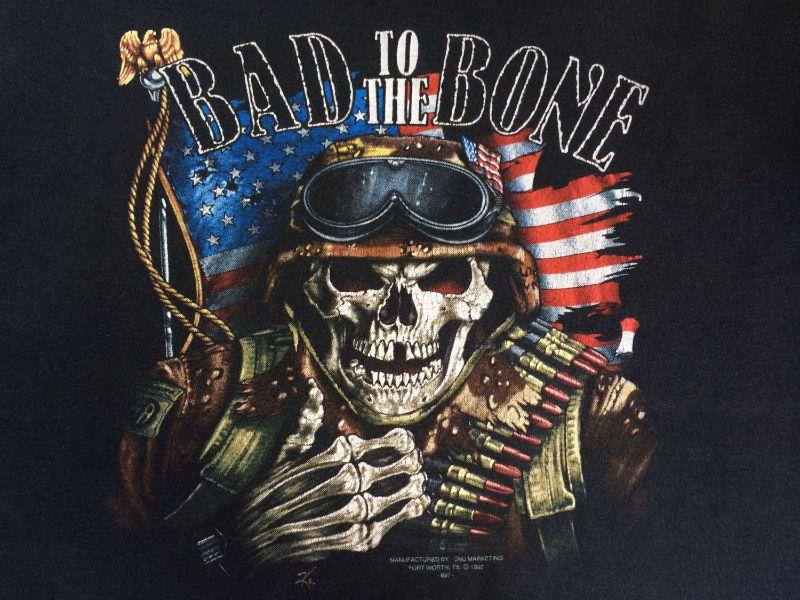 เสื้อฮาเลย์ ลายหมู Bad to the bone