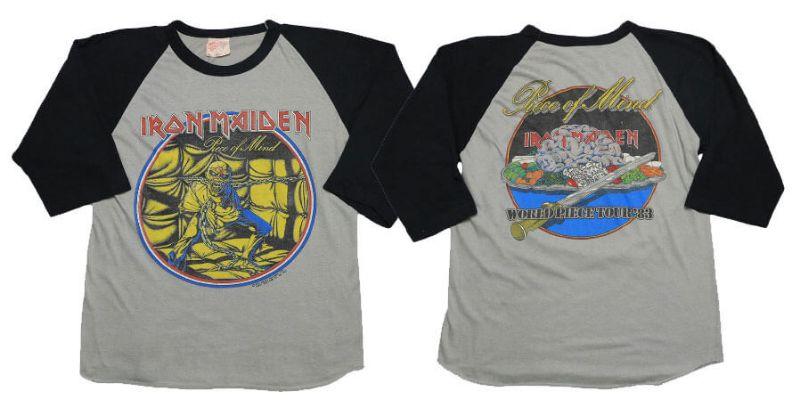 ไอรอน เมเดน Iron Maiden 1983 World Piece Tour concert