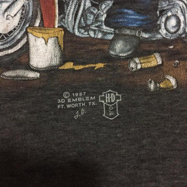 เสื้อ 3d emblem เสื้อยืดมือสอง หมูปาตี้ PARTY ANIMAY
