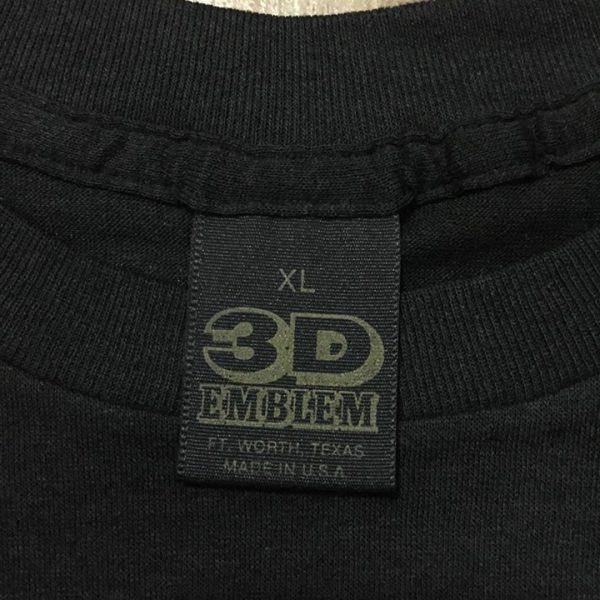 เสื้อ 3d emblem เสื้อ3d เสื้อฮาเล่ หัวลากสิงโต KING OF THE ROAD
