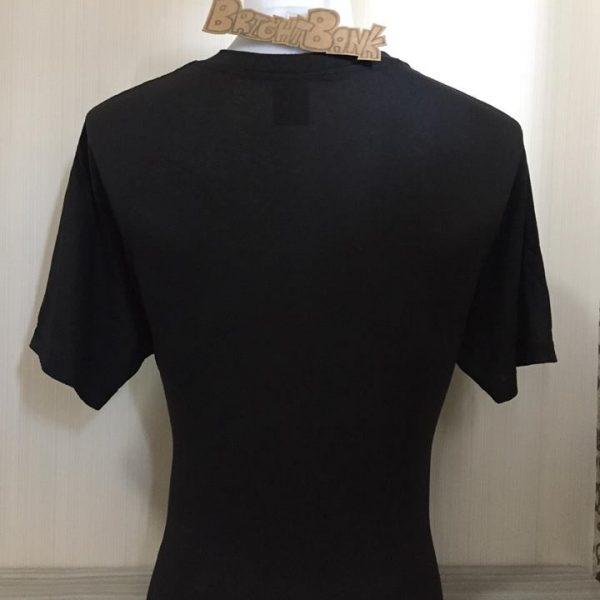 เสื้อ 3d emblem เสื้อยืดมือสองนำเข้า หัวลากนิวฟอนเทีย NEW FRONTIERS
