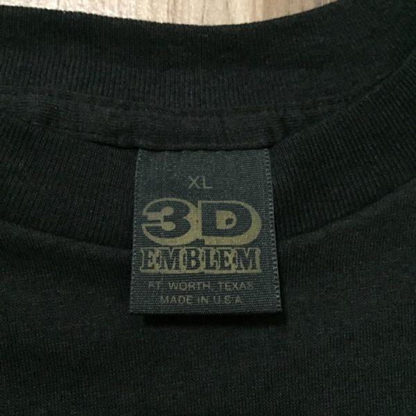 เสื้อ 3d emblem เสื้อฮาเล่ made in usa หัวลากนิวฟอนเทีย NEW FRONTIERS