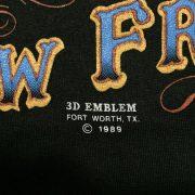 เสื้อ 3d emblem เสื้อยืดฮาเล่ย์ หัวลากนิวฟอนเทีย NEW FRONTIERS
