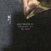เสื้อ 3d emblem เสื้อวินเทจ ผีถือระเบิด BAD TO THE BONE