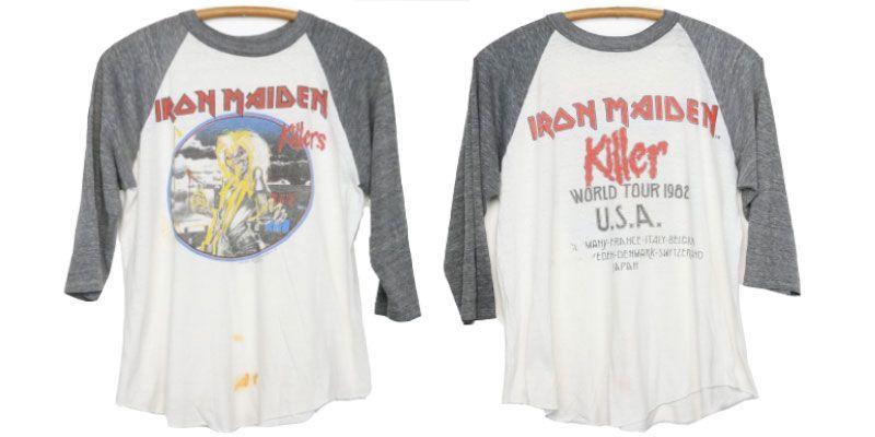 เสื้อ ไอรอน ไมเดน 1982 Killers World Tour