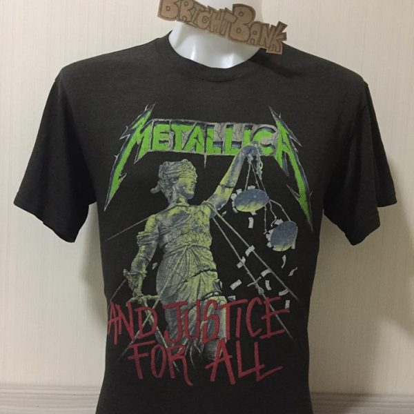 เสื้อวง Metallica ลิขสิทธิ์แท้จากอเมริกา