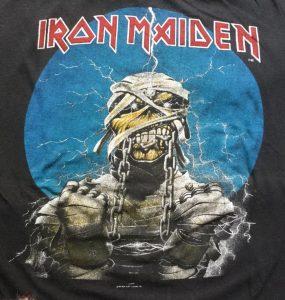 เสื้อ ไอรอน เมเดน Iron Maiden 1984 world slavery tour