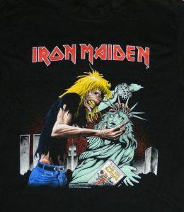 เสื้อ iron maiden แท้ 1992